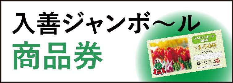 入善ジャンボ~ル商品券
